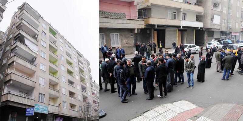 Ağır hasarlı 7 katlı Dilan Apartmanı boşaltılıyor