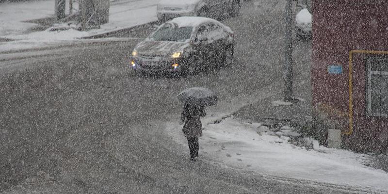 Erzurum için kuvvetli ve yoğun kar uyarısı