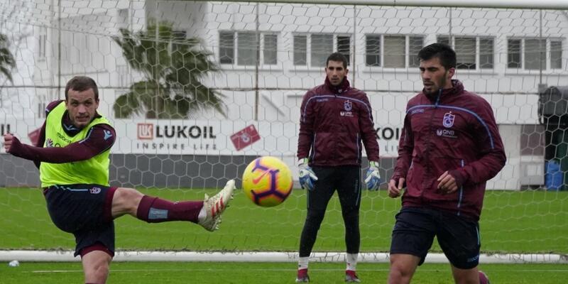 Trabzonspor Kasımpaşa maçı hazırlıklarına başladı