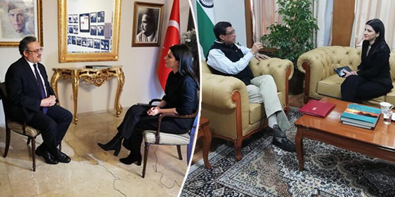Dünyanın gözü orada... Hindistan ve Pakistan büyükelçileri CNN TÜRK'e konuştu