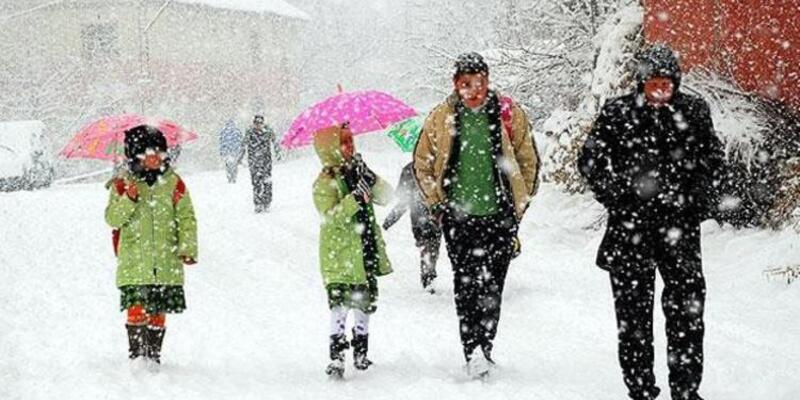 Bingöl'ün 3 ilçesinde okullara kar tatili
