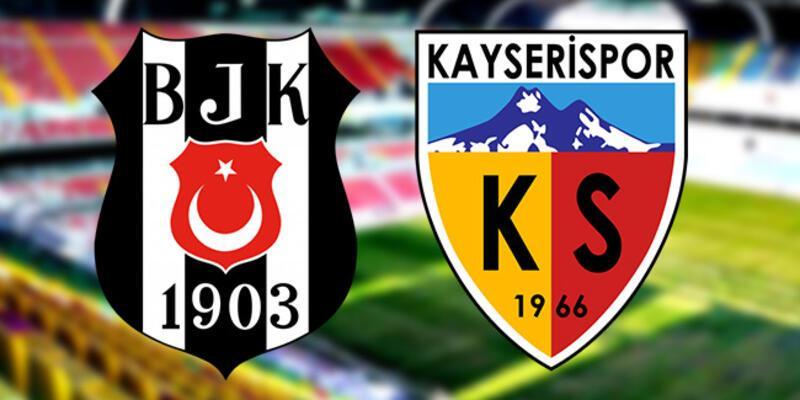 Kayserispor, Beşiktaş maçı ne zaman, saat kaçta, hangi kanalda?