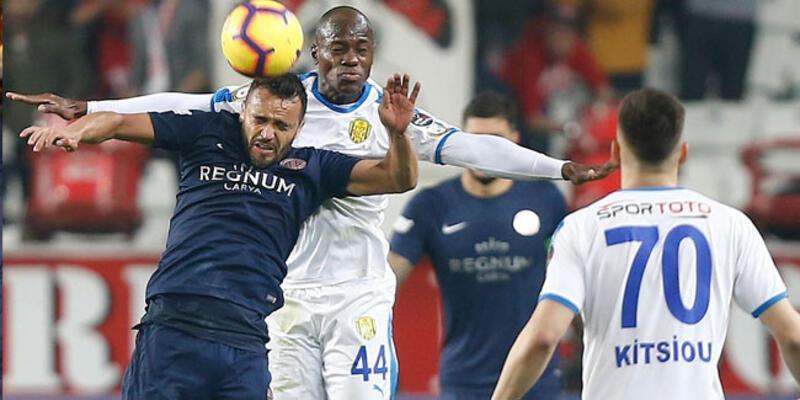 Gol düellosunun kazananı MKE Ankaragücü