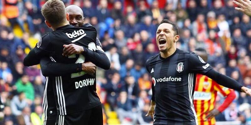 Kayserispor 2-2 Beşiktaş / Maç Özeti