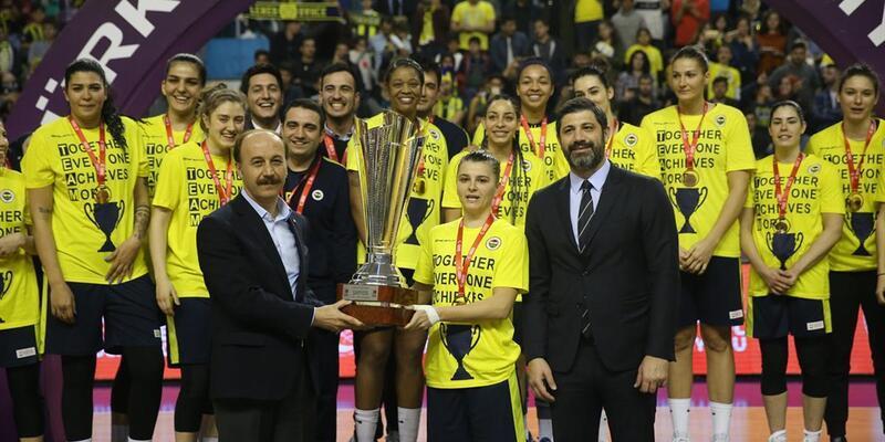 Türkiye Kupası'nı Fenerbahçe kazandı
