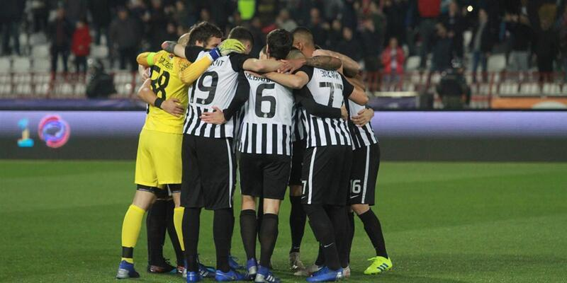Kızılyıldız-Partizan maçında kazanan çıkmadı