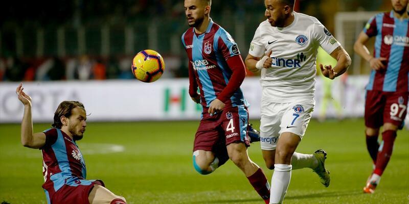 Spor Toto Süper Lig: Kasımpaşa: 2 - Trabzonspor: 2