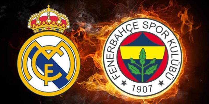 Euroleague'de kritik maç: Real Madrid - Fenerbahçe