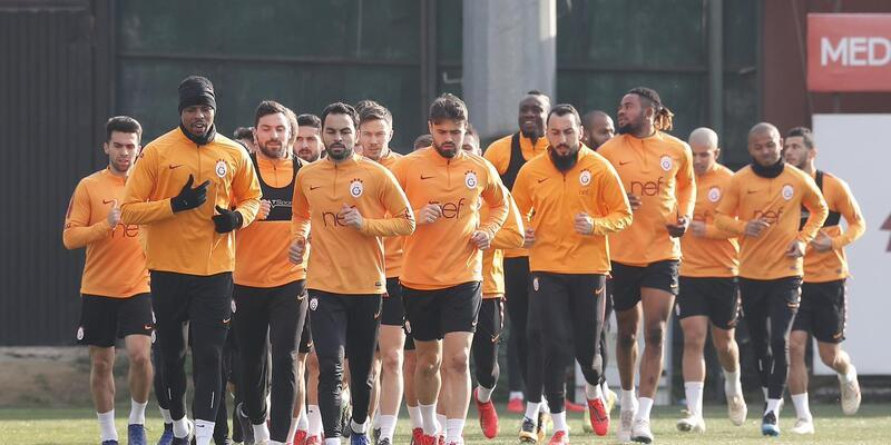 Galatasaray Antalyaspor maçına hazırlanıyor