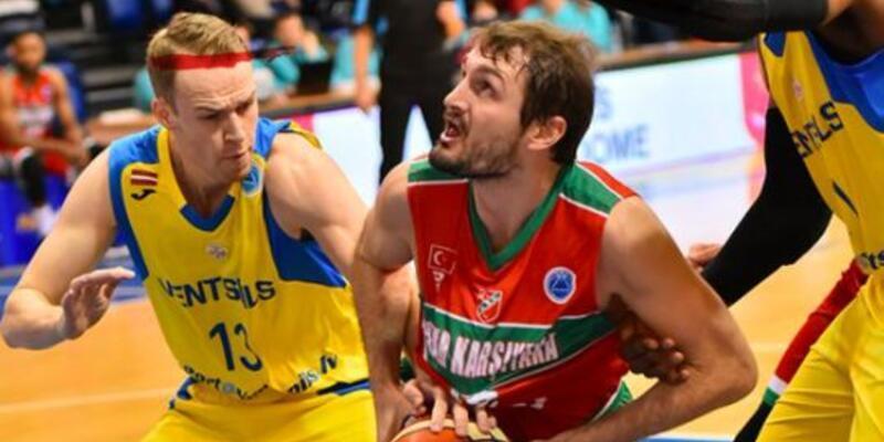 Ventspils 78-76 Pınar Karşıyaka / FIBA Erkekler Avrupa Kupası