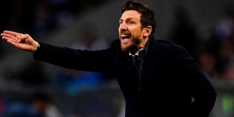 Roma'da Cengiz Ünder'in hocası Eusebio Di Francesco'yla yollar ayrıldı