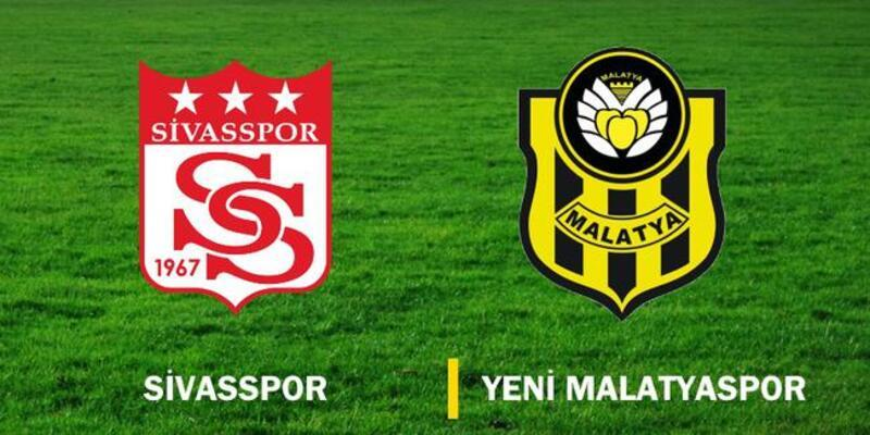 Sivasspor - Yeni Malatyaspor maçı 11'leri