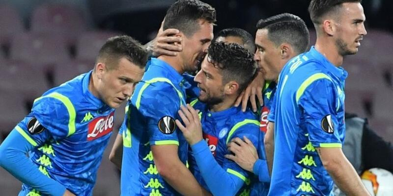 Napoli 3-0 Salzburg / Maç Özeti