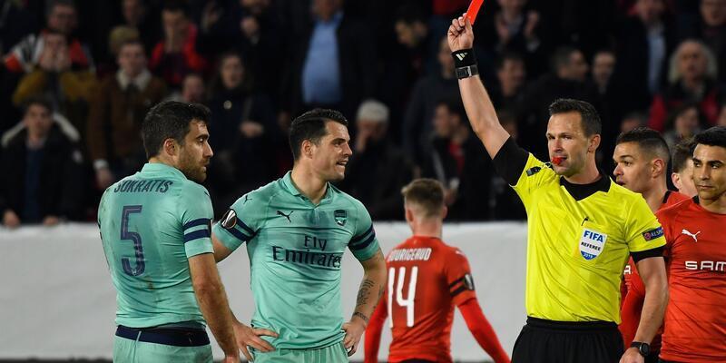 Arsenal Rennes deplasmanında dağıldı