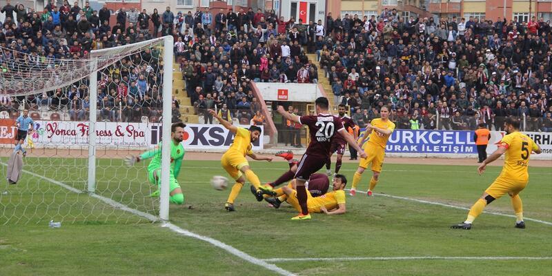 Hatayspor 4-0 Eskişehirspor / Maç Özeti