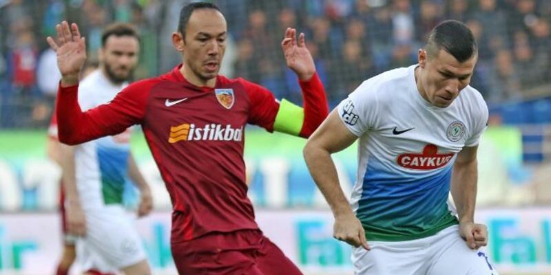 Rizespor 3-0 Kayserispor / Maç Özeti