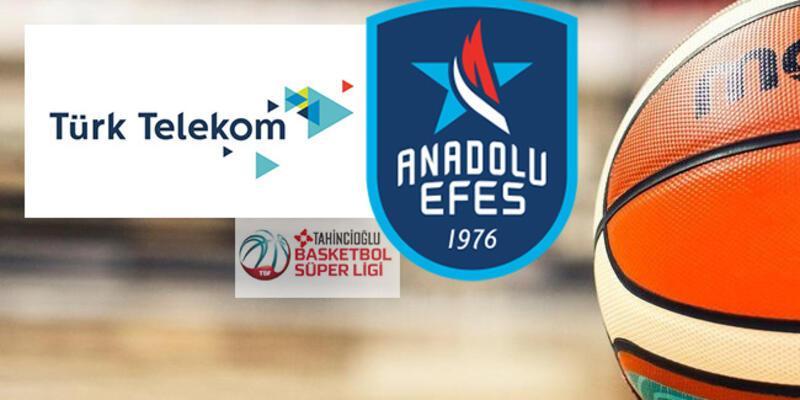 Türk Telekom, Anadolu Efes basketbol maçı ne zaman, saat kaçta, hangi kanalda?