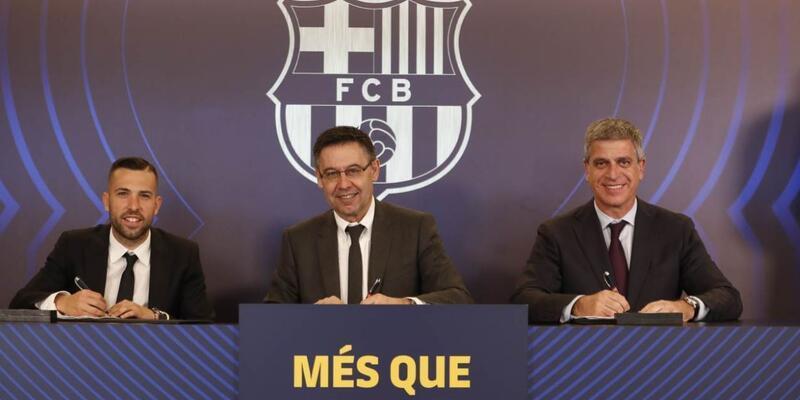Jordi Alba artık 500 milyon euro