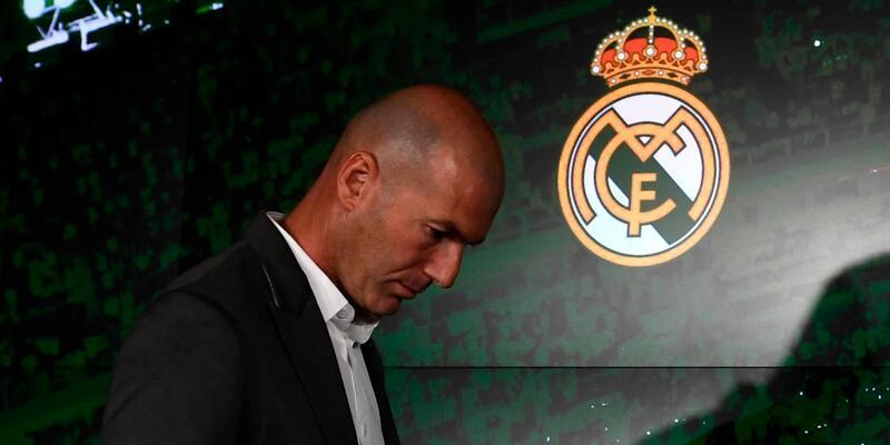 Zinedine Zidane yeniden Real Madrid'de