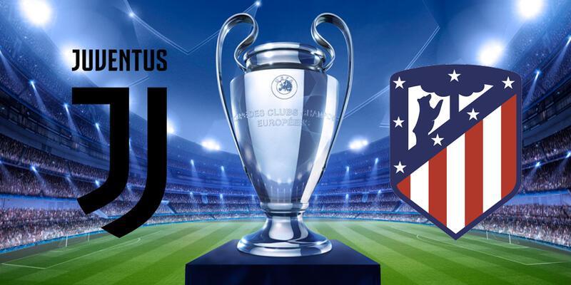 Juventus Atletico Madrid CANLI