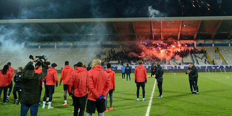 Erzurumspor, Trabzonspor maçı hazırlıklarına başladı