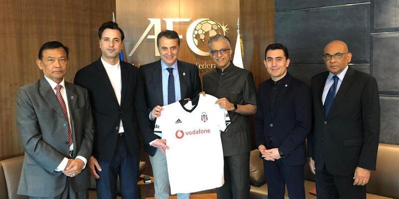 Fikret Orman, Asya Futbol Konfederasyonu Başkanı'nı ziyaret etti