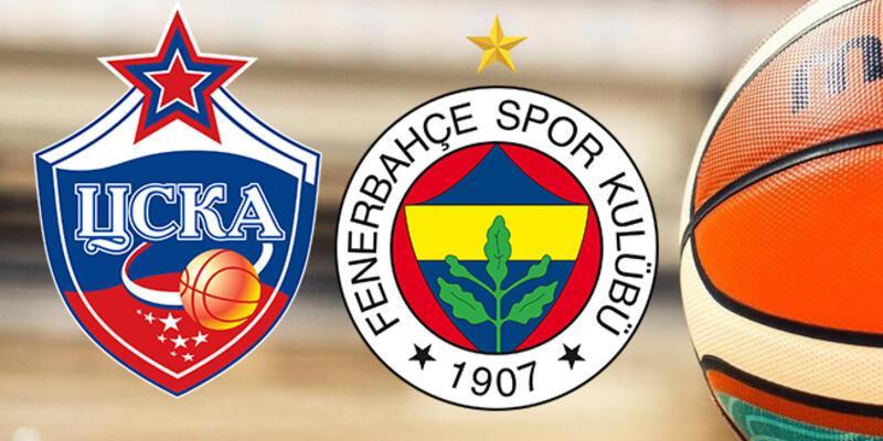 CSKA Moskova, Fenerbahçe basketbol maçı ne zaman, saat kaçta, hangi kanalda?