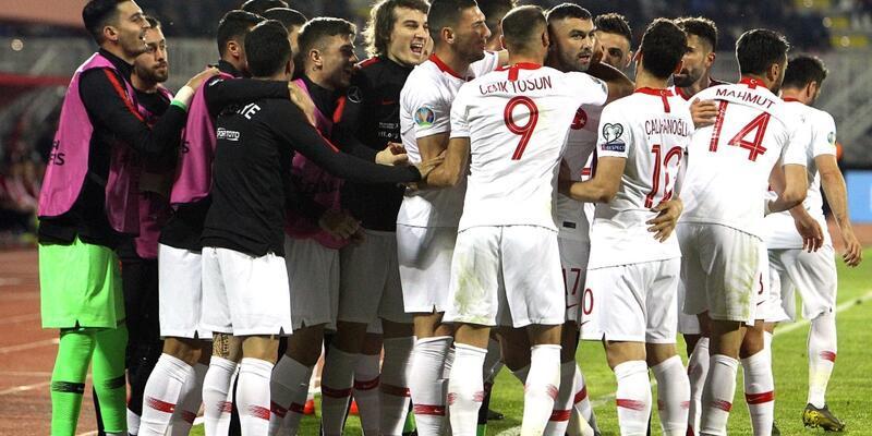 Arnavutluk 0-2 Türkiye / Maç Özeti