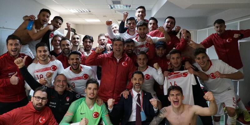 Arnavutluk'u deviren Ümit Milli Takım iyi başladı