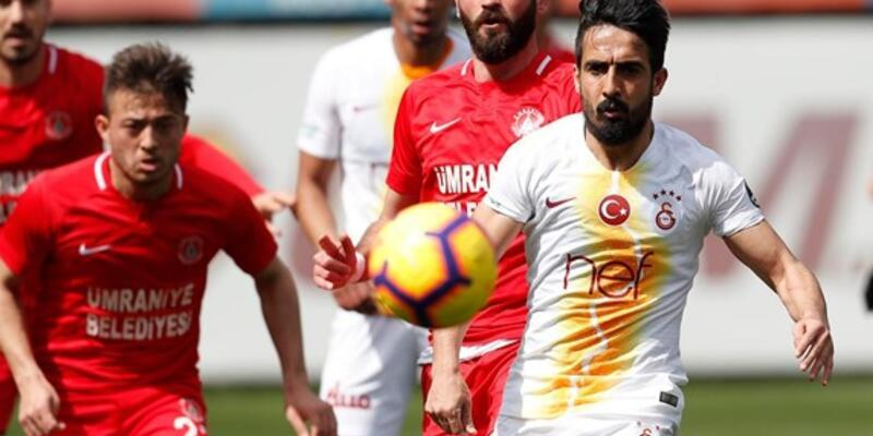 Galatasaray 3-2 Ümraniyespor / Maç Özeti