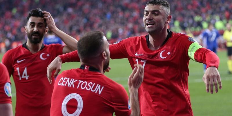 Türkiye 4-0 Moldova / Maç Özeti