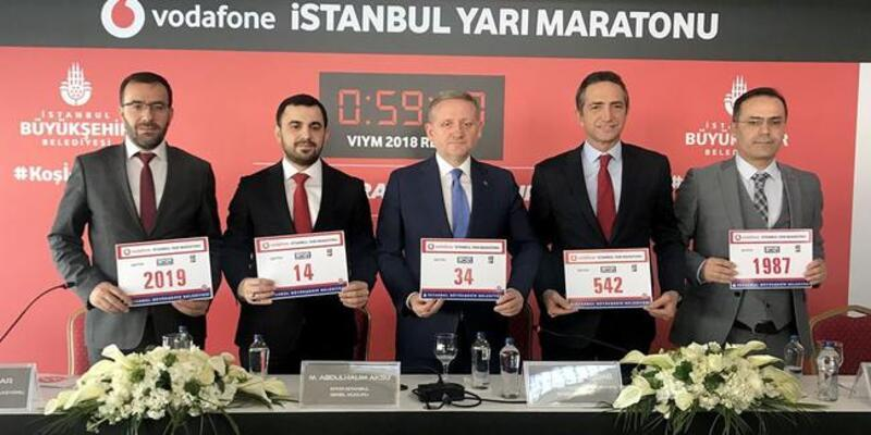 Vodafone 14. İstanbul Yarı Maratonu'na kayıt için son 3 gün