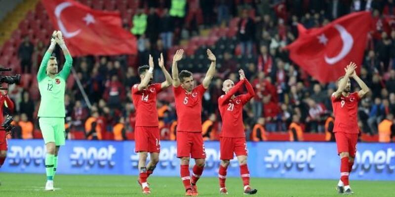 Türkiye'nin FIFA sıralamasındaki yeri değişti