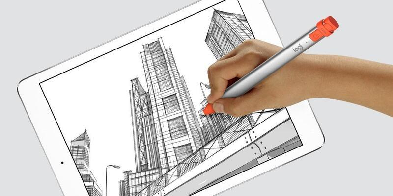 Logitech Crayon iOS 12.2 ile yeni iPad Pro'da çalışacak