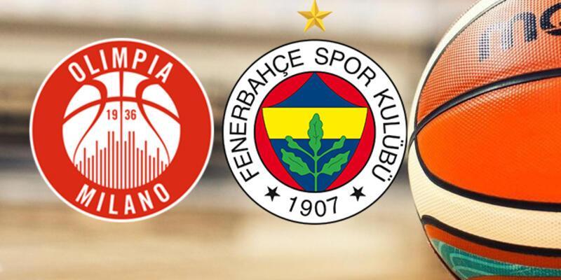 Olimpia Milano, Fenerbahçe basketbol maçı ne zaman, saat kaçta, hangi kanalda?
