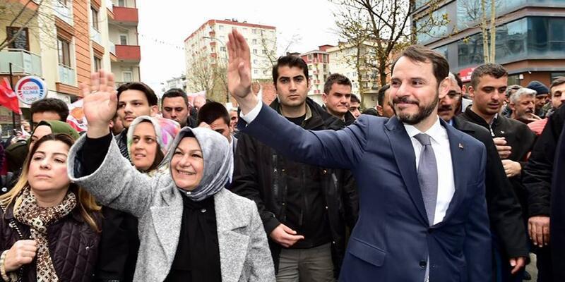 Hazine ve Maliye Bakanı Albayrak'tan Sancaktepe'de istikrar vurgusu