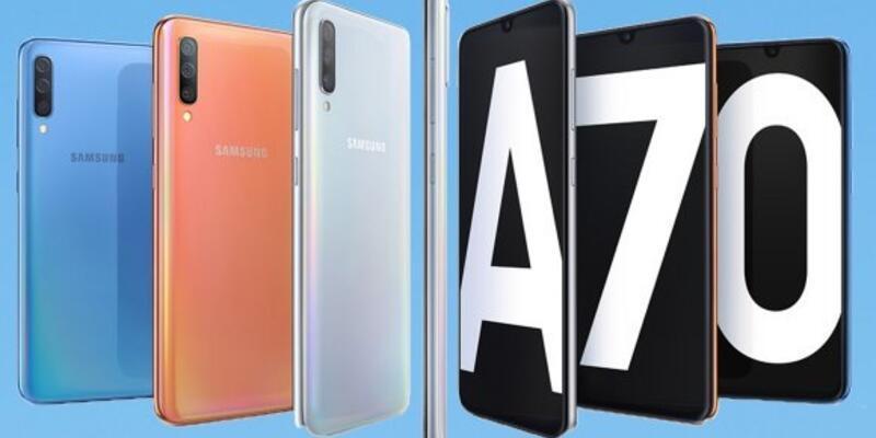 Galaxy A70 tanıtıldı! İşte özellikleri