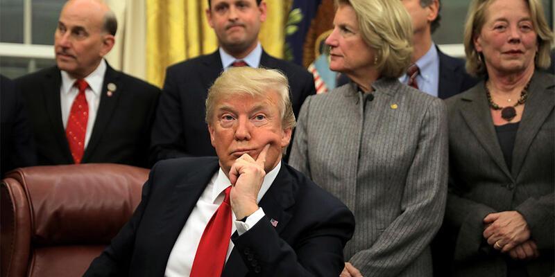 Trump: Bu soruşturma hükümetimizi devirmeye teşebbüstü