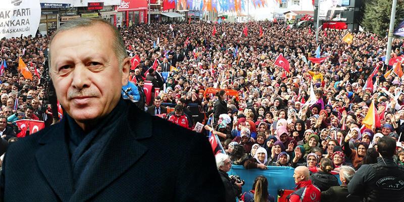 Son dakika... Cumhurbaşkanı Erdoğan Haymana'da