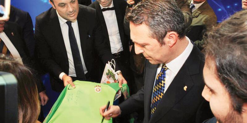 Ali Koç Galatasaray formasını imzaladı
