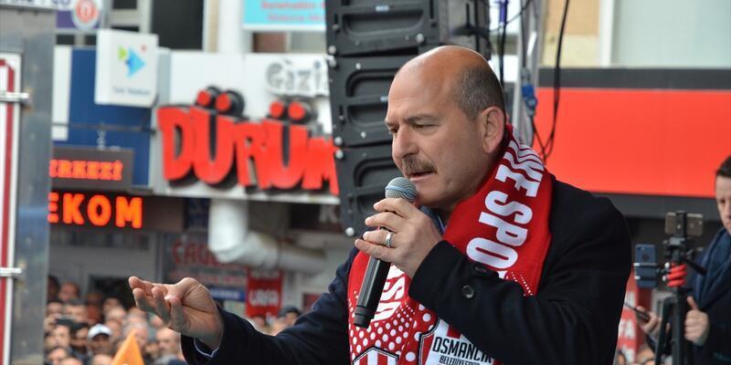 İçişleri BakanıSüleymanSoylu:PKK'yı söküyoruz, PKK'yı çözüyoruz, siz hiç endişe etmeyin