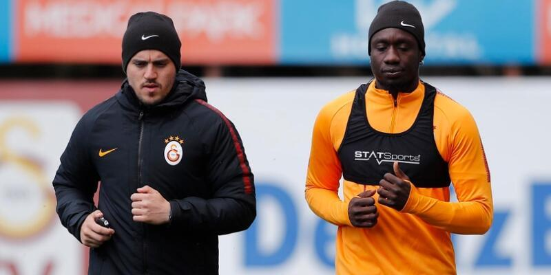 Galatasaray 4 futbolcudan yoksun çalıştı