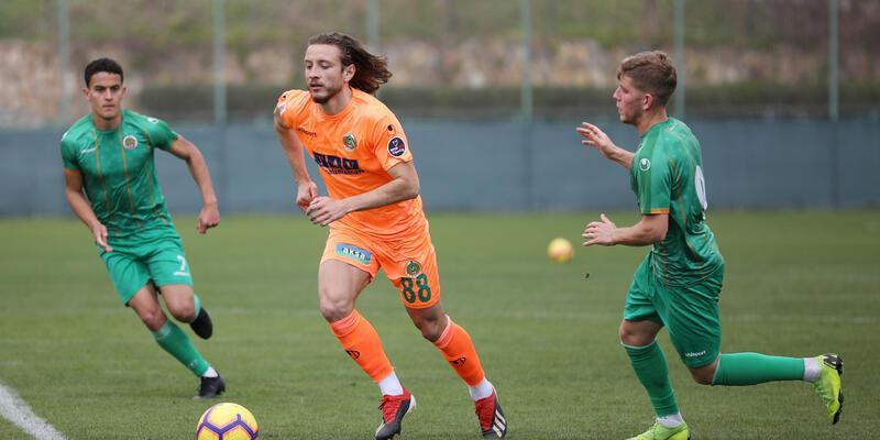 Alanyaspor'dan 7 gollü prova