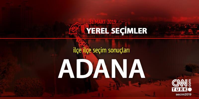 Adana seçim sonuçları 31 Mart 2019: Yerel seçim Adana oy oranı