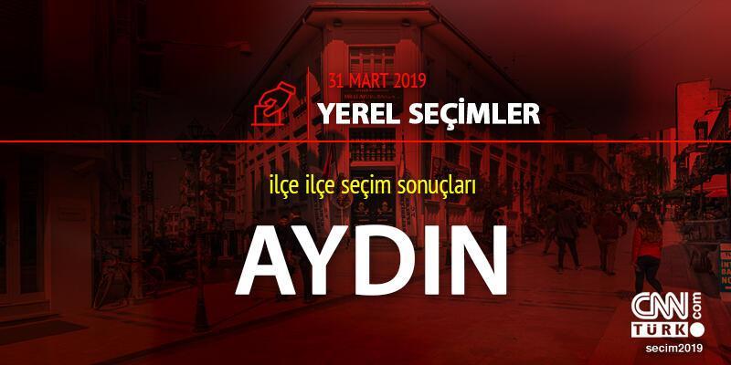 Aydın seçim sonuçları 31 Mart 2019: Yerel seçim Aydın oy oranı