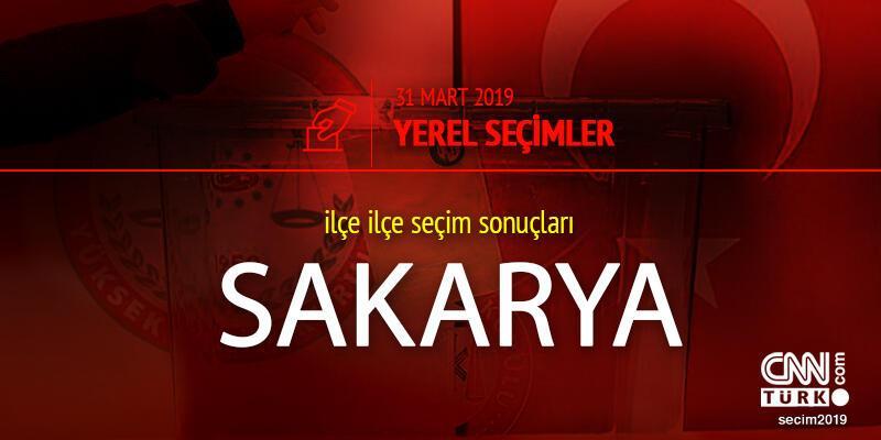 Sakarya 31 Mart seçim sonuçları ve 2019 Sakarya yerel seçim oy oranı