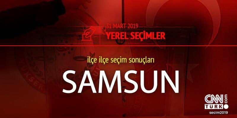 Samsun seçim sonuçları: 2019 31 Mart yerel seçimleri Samsun oy oranları