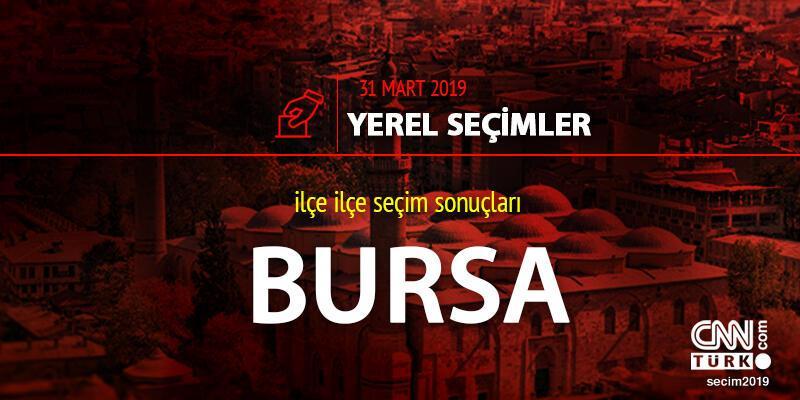 Bursa yerel seçim sonuçları: 31 Mart 2019 Bursa oy oranları