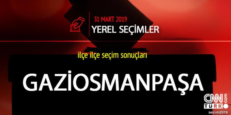 Gaziosmanpaşa seçim sonuçları: İstanbul Gaziosmanpaşa yerel seçim oy oranları