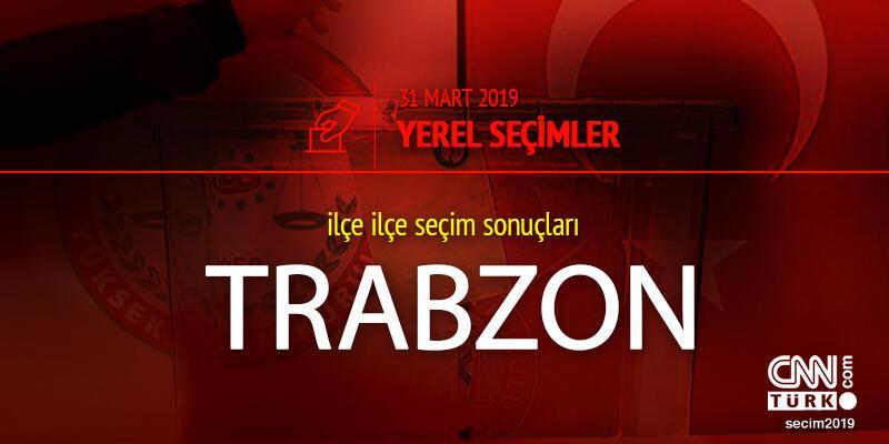 Trabzon seçim sonuçları: 2019 31 Mart yerel seçimleri Trabzon oy oranları